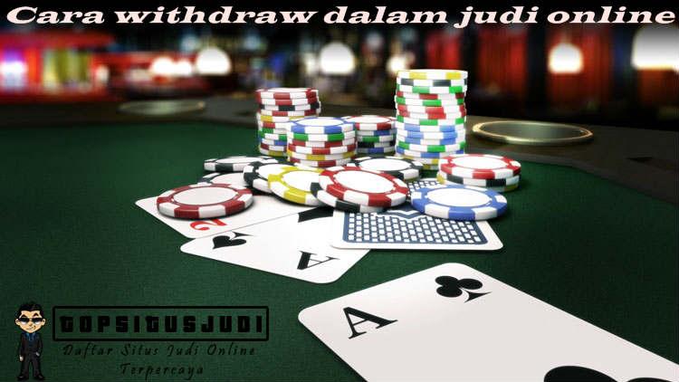 withdraw judi online terbaik